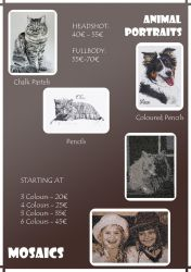 Commission Price Sheet by Lorello