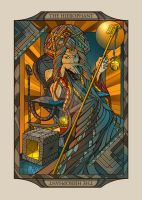Dune Tarot card #5 - The Hierophant: by HeliospherePrints