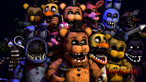 [SFM FNAF] Withereds Models By CoolioArt by LineX240