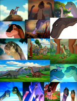 Littlefoot's Family Group by Enterprise206