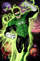 Green Lantern by Sorathepanda