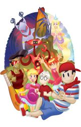 Earthbound Beginnings by geeksnextdoor