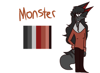 Monster ref by EdgyyWaffle