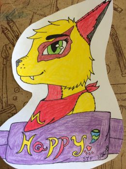 Happy meal ^w^ by Sabertoothfoxy