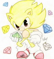 +Collab+ Super Sonic by Metana