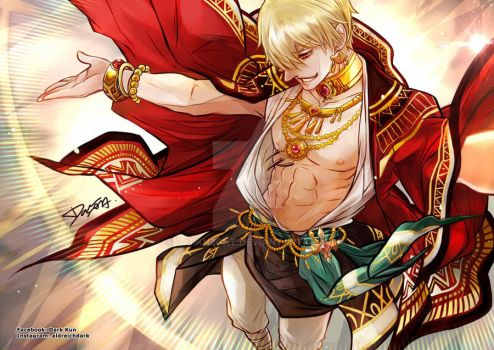 FATE/extella Gilgamesh by darkn2ght