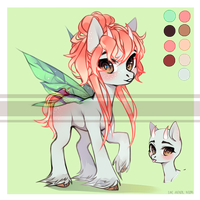 Adopt [Raffle 48h] Fairy Pony [CLOSED] by LunnaDeLuna