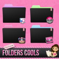 4 Folders Cools~.Png e .Ico by:Lucesita by LucesitaEditions