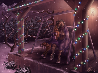 Commission - Winter's Warmth by DerOjor