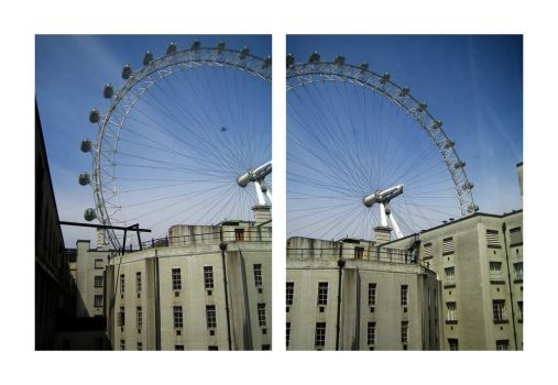 london eye diptych by redux