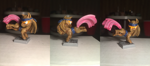 Ninja Pony Table-Top Miniature by NPCtendo