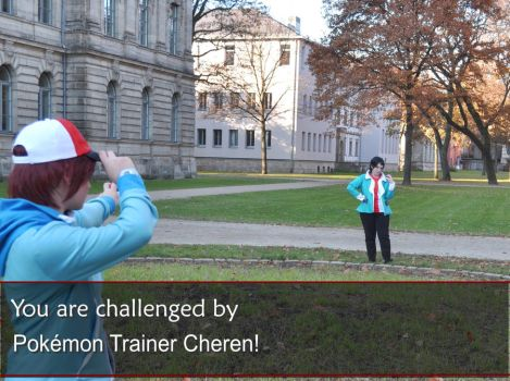 You are challenged by Cheren by Ravelcoplay