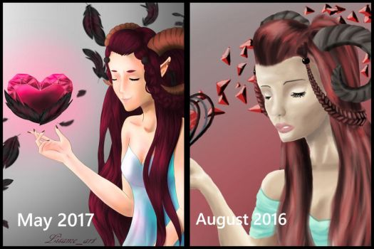 comparison 2016 and 2017 by lisameart