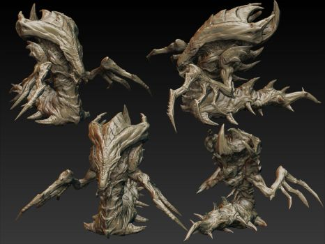 HyDraLisk WIP update 001 by MKounelakis