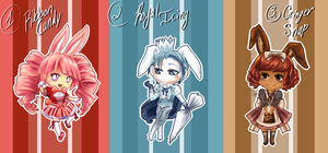 Sugar Bunny Auction Adopts Series 1 -CLOSED!- by Solstice-11