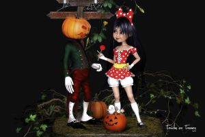 Tricks or Treats by Dani3D