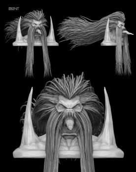 Rage - Zbrush by DISENT