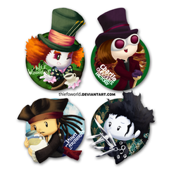 Mr Depp Tributes by Thiefoworld
