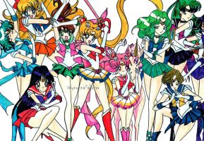 the sailor soldiers by whyneful