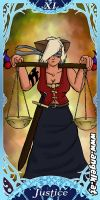 Tarot Project: Justice Card by slicedguitars