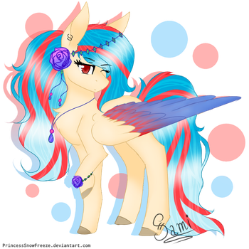 [Gift] Sapphire Crystaline by PrincessSnowFreeze