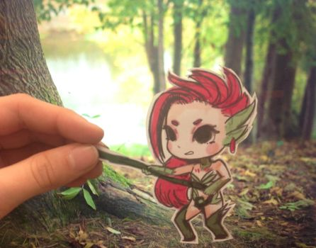 Zyra Paper child ~ League of Legends by toxidic