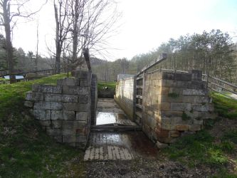 Lock at Beaver Creek State Park by BryceMigliore