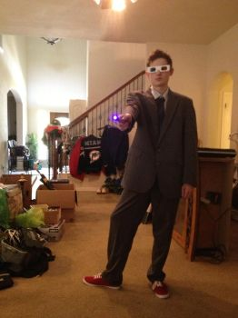 My 10th Doctor Cosplay by SonicRainBoomFTW
