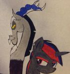 Beelzeskull little sister of Discord by Beelzeskull06
