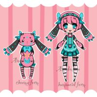New specie choomy adoptable closed by AS-Adoptables