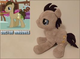 Doctor Whooves Plush by Lumae-el