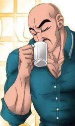 Nappa sipping coffee by JD-Awesome