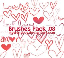 Brushes Pack .08 - Happy Valentines Day by MyShinyBoy