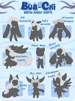 Bub-Chi winter advent adopts [3/9 OPEN] by KetLike
