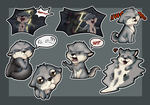 Commission - Henry Sticker pack by GroxikavonDarkside
