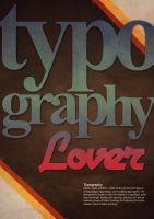 Typography Lover by Shadowtuga
