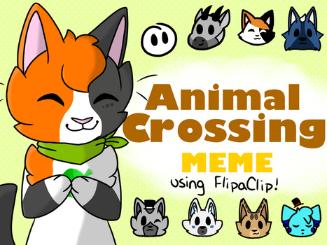 Animal Crossing Meme Thumbnail by MapleDrizzle