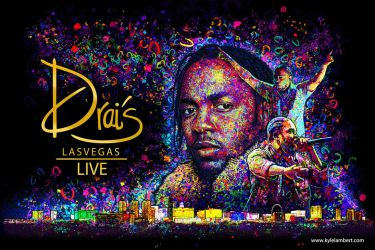 KENDRICK LAMAR - DRAI'S NIGHT CLUB VIP INVITE by kyle-lambert