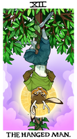 comm - the hanged man by CoryKatze