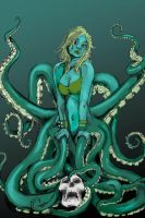 Octopus Girl by Jorgie169