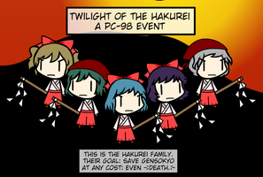Twilight of the Hakurei Preview by Spaztique