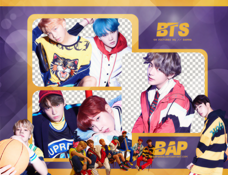 Pack Png 710 // BTS (Love Yourself - Her) (E Ver) by BEAPANDA