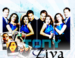 Tony + Ziva by smecky