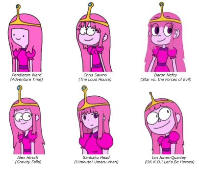 Bubblegum in 6 Different Styles by Finnjr63