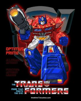 Optimus Prime by timshinn73
