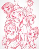 Doodles by ChrissieZullo