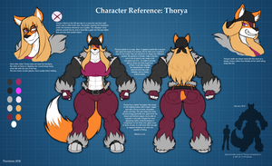 Character Reference: Thorya by Thorvrog