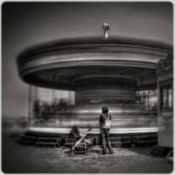 Waiting For The Next Ride by spare-bibo