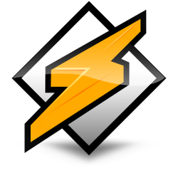 Winamp dock icon-white by furiousfelinefuries