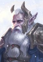 Elven Ice King by Jastham